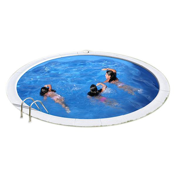 Piscina enterrada gre sumatra circular outlet piscinas for Piscinas enterradas