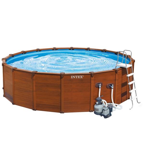 Piscina intex sequoia spirit 569x135 outlet piscinas for Oulet piscinas