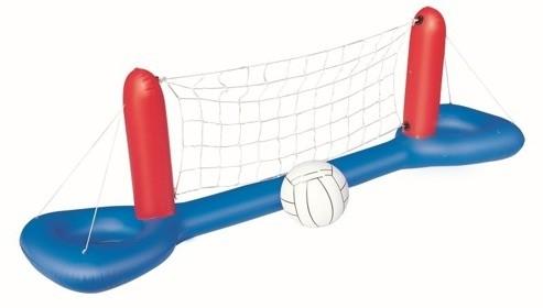 Juego de voleyball hinchable 244 x 64 cm de bestway for Cubre piscina bestway