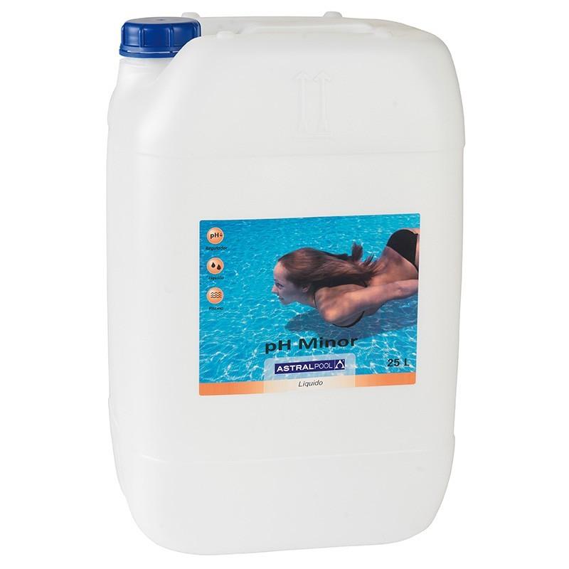 Minorador ph minor l quido astralpool outlet piscinas for Outlet piscinas