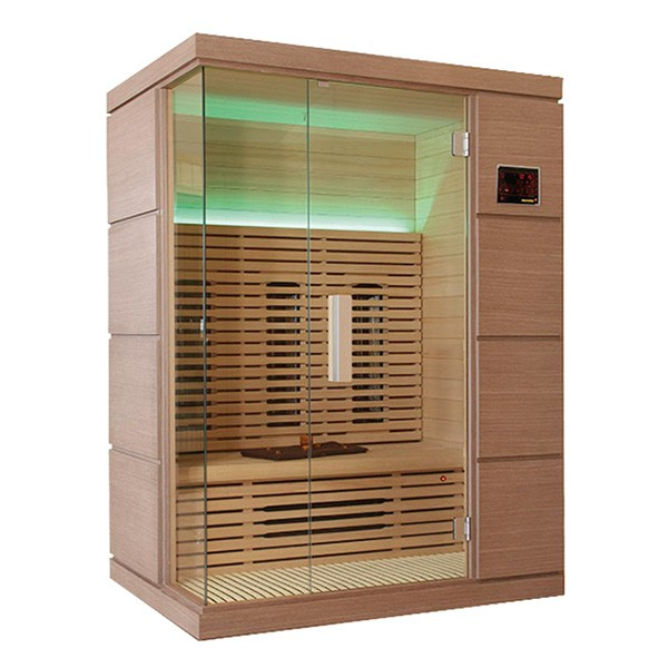 Sauna infrarrojos novus outlet piscinas for Oulet piscinas