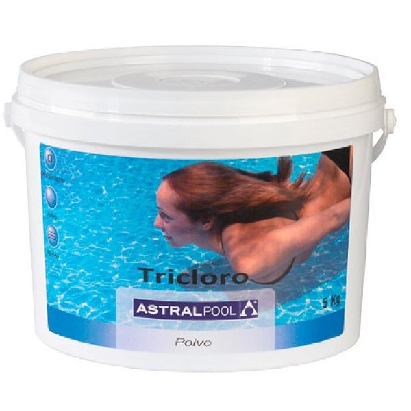 tricloro en polvo de astralpool outlet piscinas. Black Bedroom Furniture Sets. Home Design Ideas