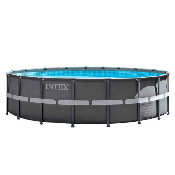 Piscina ultra frame intex 549 x 132 outlet piscinas for Cubre piscinas intex