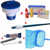 Pack Mantenimiento piscina desmontable