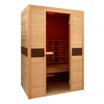 Sauna de infrarrojos Ruby doble