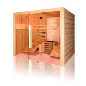 Sauna tradicional de vapor piedra Poolstar