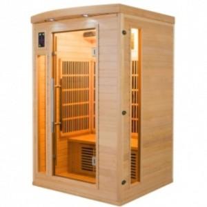 Sauna Infrarrojos Apollon 2 Plazas