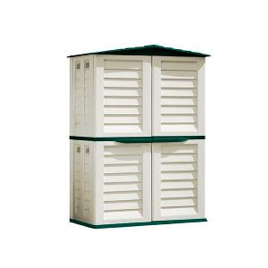 Caseta de resina para exterior