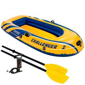 Barca hinchable Intex Challenger 2