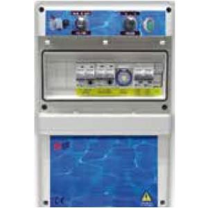 Cuadros eléctricos para bomba de filtro y limpiafondos Coytesa