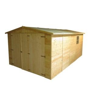 Garaje de madera 516 x 324 x 222 cm