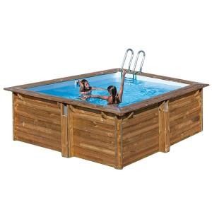 Piscinas de madera desmontables outlet piscinas for Base para piscina desmontable