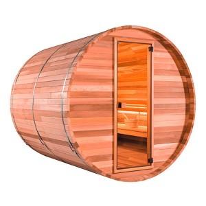 Sauna exterior de barril Barrel Vap