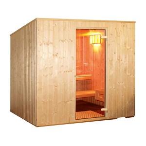Sauna 4 Personas - Vapor e Infrarrojos | Outlet Piscinas