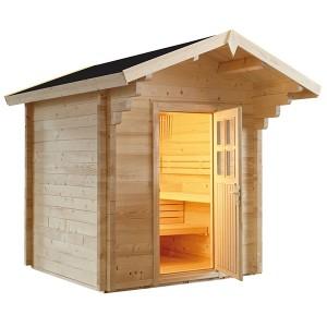 Sauna Exterior Vapor Country Tradicional Filandesa