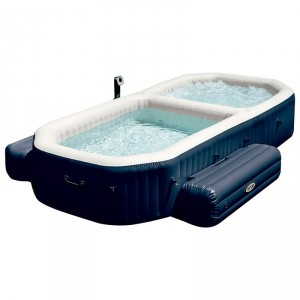 spa hinchable purespa con piscina