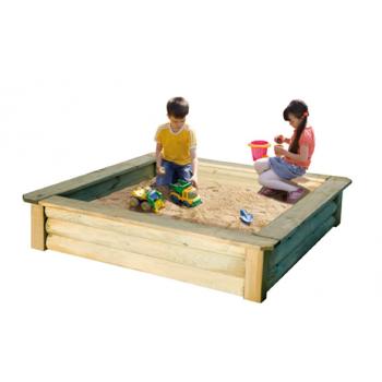 Areno de madera para niños