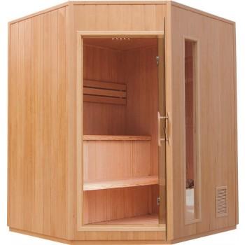 Sauna de Vapor Zen Angular - 3 Personas