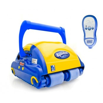Limpiafondo Aquabot VIVA con mando a distancia