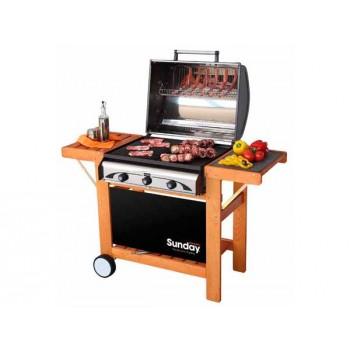 Barbacoa Grill a gas Master 3 Inox