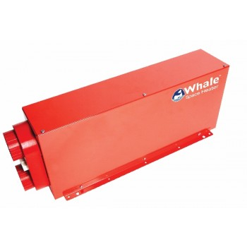 Calefactor Whale Gas + Eléctrico montaje interior 2 kW