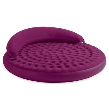Cama de Aire Circular Violeta