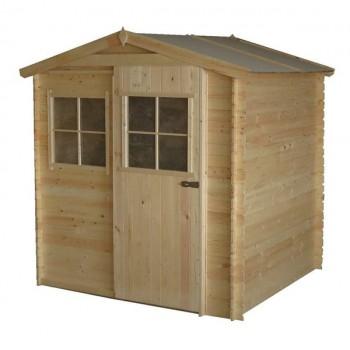 Cobertizo de madera 180 x 200 x 218