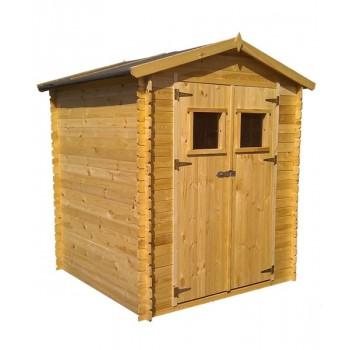 Cobertizo madera 200 x 250 x 218