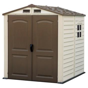 Caseta de PVC para exterior StorePro 6 x 6