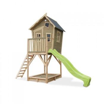 Casita de madera para niños Crooky 700