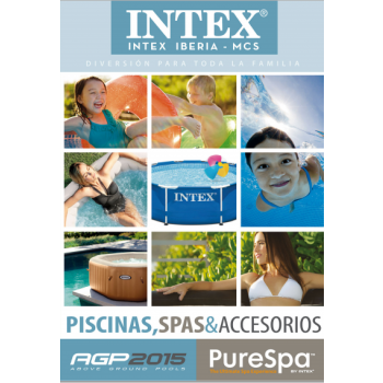 Catálogo 2015 de Piscinas, Spas y accesorios de INTEX