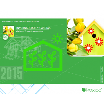 Catálogo Invernaderos y Casetas Kokido 2015