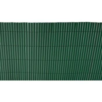 Cerramiento Cañizo Plástico Simple Cara Verde