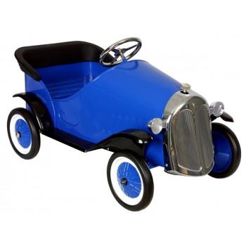 Coche Retro Sedan azul