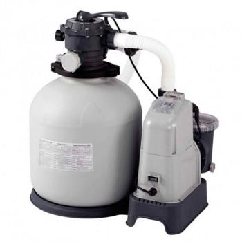 Combo depuradora arena/cloracion salina