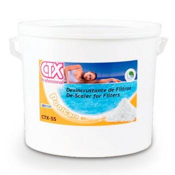 Desincrustante sólido filtros de arena CTX-55