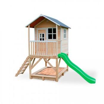 Casita de madera para niños Loft 500 Exit