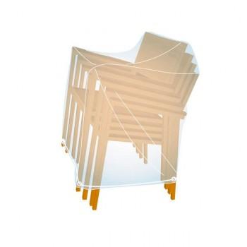 Funda PVC cubre sillas apiladas