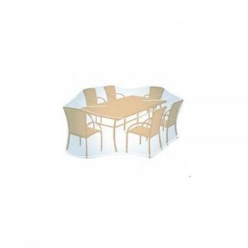 Funda PVC Transparente para mesa L