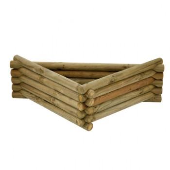 Jardinera Triangular Troncos Madelea