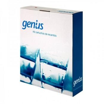 Kit de cartuchos para ósmosis Genius
