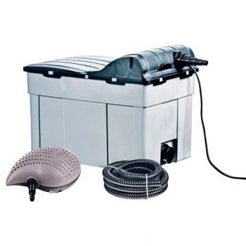 Kit filtración bomba y UV 16000L heissner