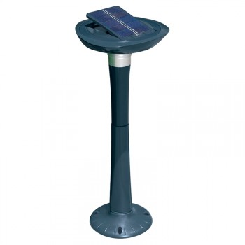 Lámpara solar LED para jardín Intex