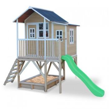 Casita de madera para niños loft 550 madera
