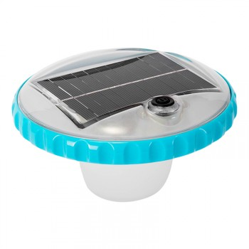 Luz LED flotante carga solar Intex