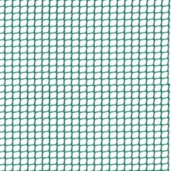 Malla de Plástico Cuadrada Verde