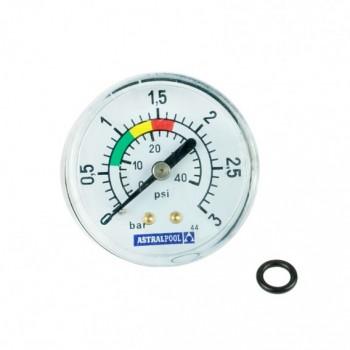 """Manómetro ⅛"""" 3 KG./C filtro AstralPool 4404010103"""