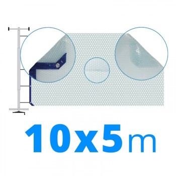 Manta térmica solar 5x10 m transparente