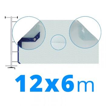 Manta térmica solar 6x12 m azul