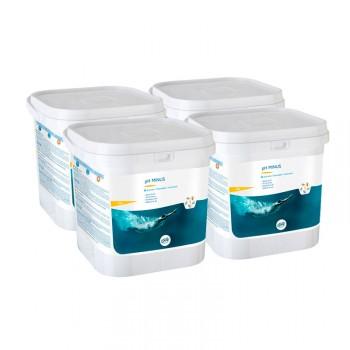 El Minorador pH granulado Gre 76002 le permite bajar y estabilizar el pH del agua de su piscina.